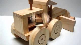 Wooden toy kit - Road grader