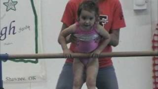2 and 3 year old gymnastics montage-Take 2 (new music)