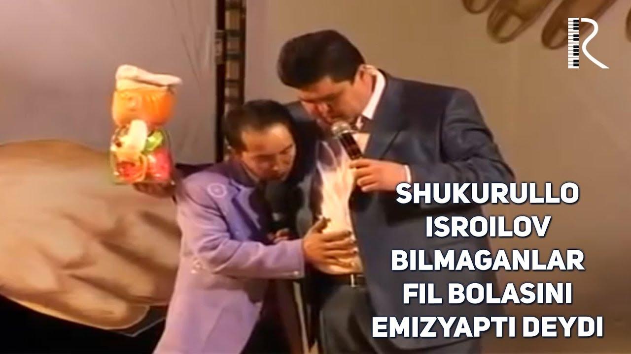 Shukurullo Isroilov - Bilmaganlar fil bolasini emizyapti deydi