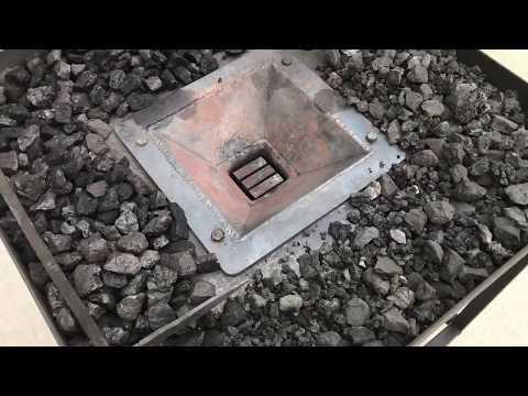 My homemade coal forge
