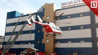Пожар в ТЦ Москвы