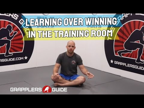 Learning Over Winning In The Training Room (Jason Scully) - BJJ Grappling