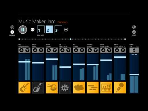 Windows 8 App|Music Maker Jam [Dubstep]