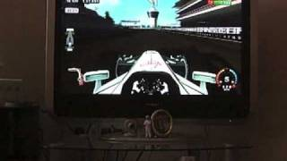 F1 2009 Wii Abu Dhabi Gameplay Part 1