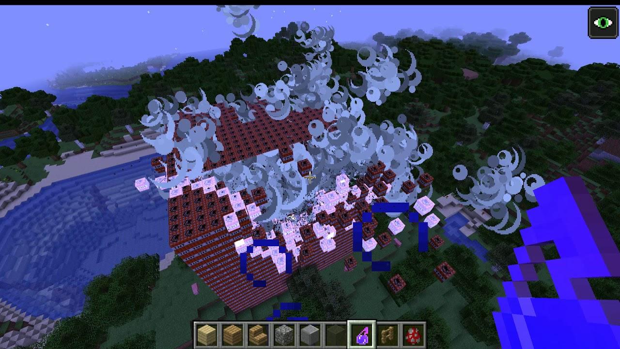 Crashing A MineCraft Server With TNT YouTube