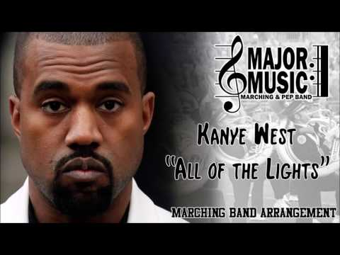 All of the Lights Kanye West MarchingPep Band Music Arrangement