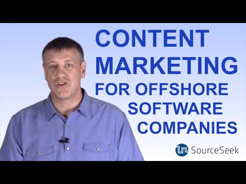Content Marketing for Offshore Software Teams