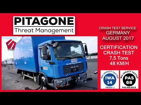 Crash-Test / Certification PITAGONE F11