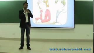 Motivational Speaker Zubin Rashid - Keynote at IIT Kharagpur - India