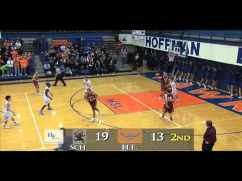 Schaumburg Vs Hoffman Estates High School Basketball Game 12 8 11 Youtube