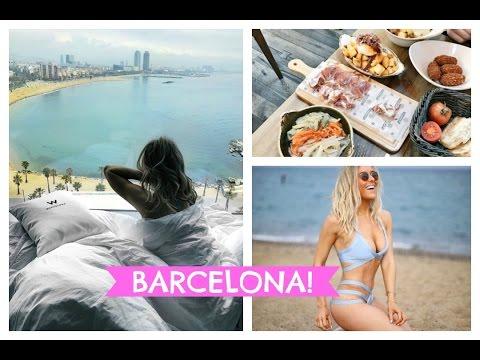 BARCELONA TRAVEL VLOG - BEST TAPAS IN BARCELONA; W HOTEL BARCELONA; WEEKEND IN BARCELONA | EmTalks
