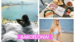 BARCELONA TRAVEL VLOG - BEST TAPAS IN BARCELONA; W HOTEL BARCELONA; WEEKEND IN BARCELONA | EmTalks Mp3