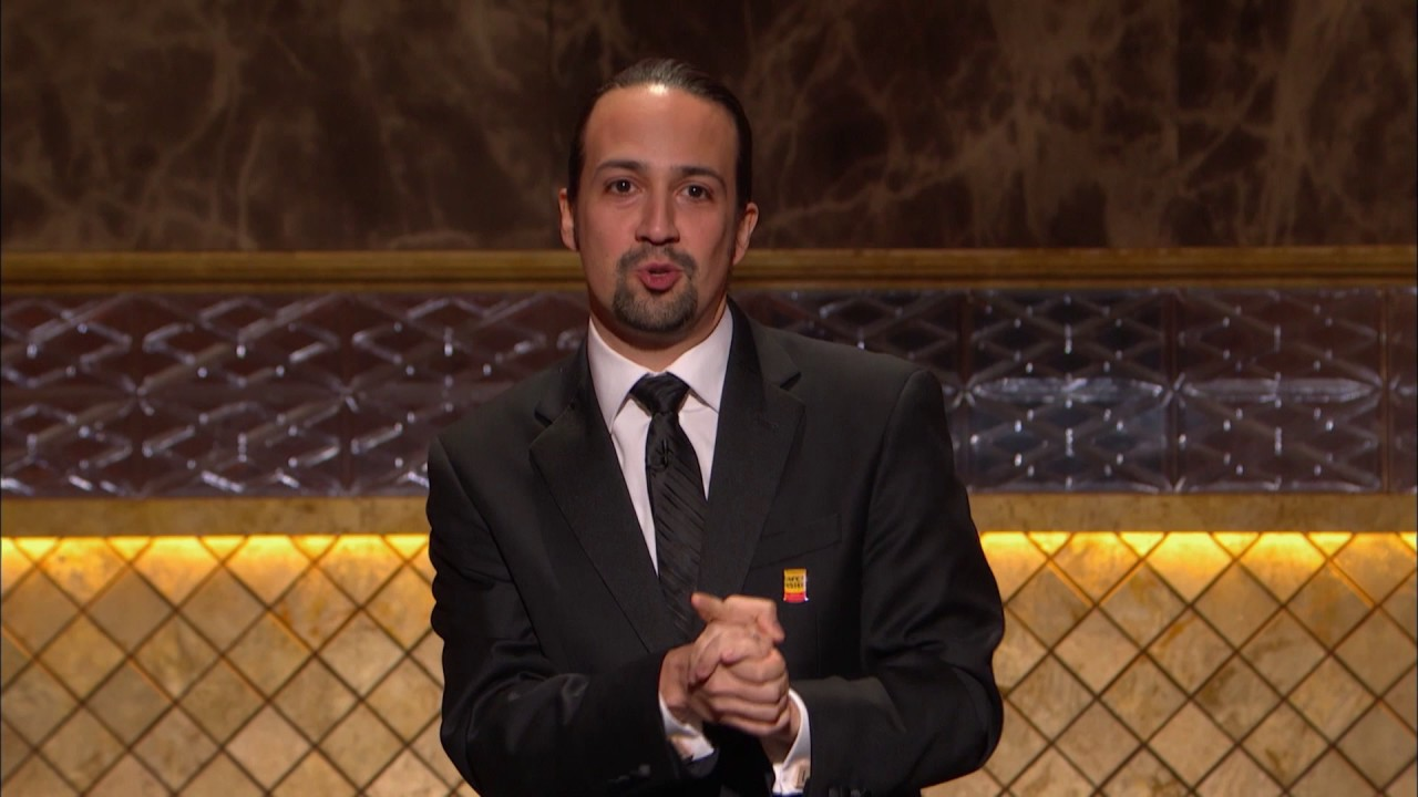 Watch Lin-Manuel Mirandas Speech in Honor of the Orlando Victims Brings the Whole Audience to Tears video