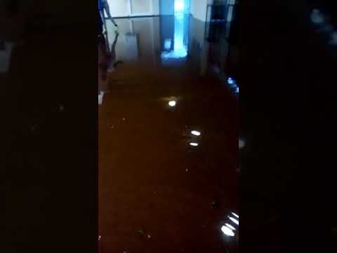 DURBAN UKZN SU building flooded
