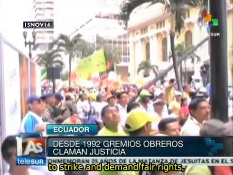 Ecuador: Guayaquil massacre marked beginning of workers' struggles