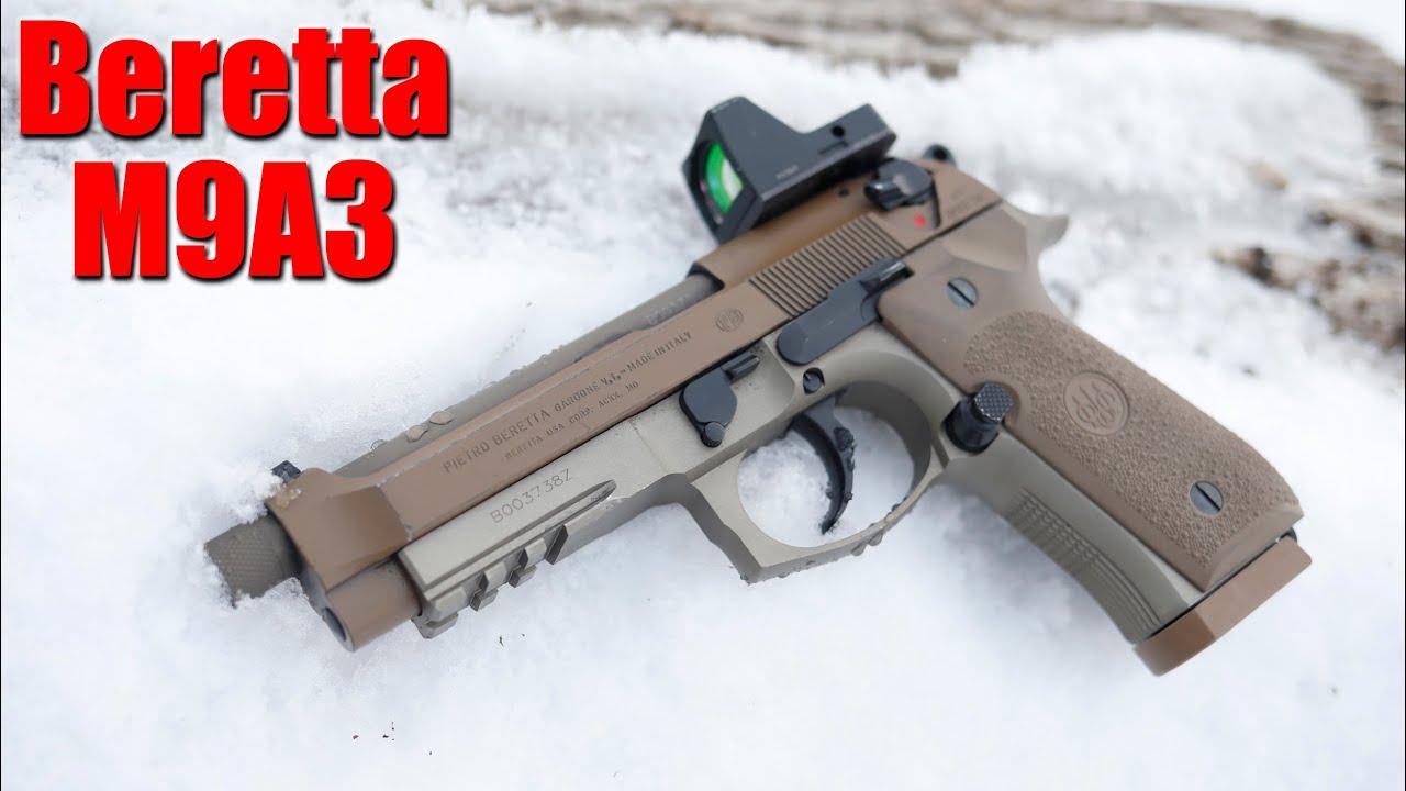 Beretta M9A3 2000 Round Update