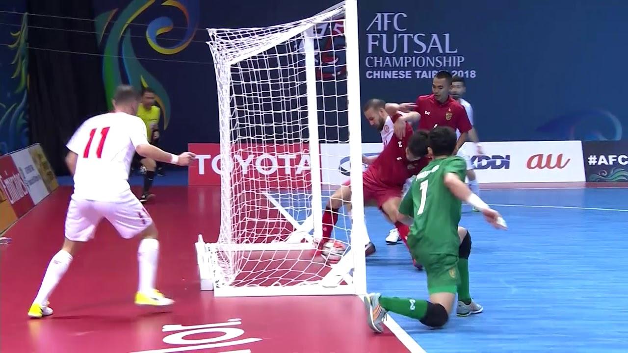 Video: Futsal Liban vs Futsal Thái Lan