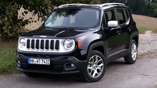 2016 Jeep Renegade 1.4L Multiair (140 HP) TEST DRIVE