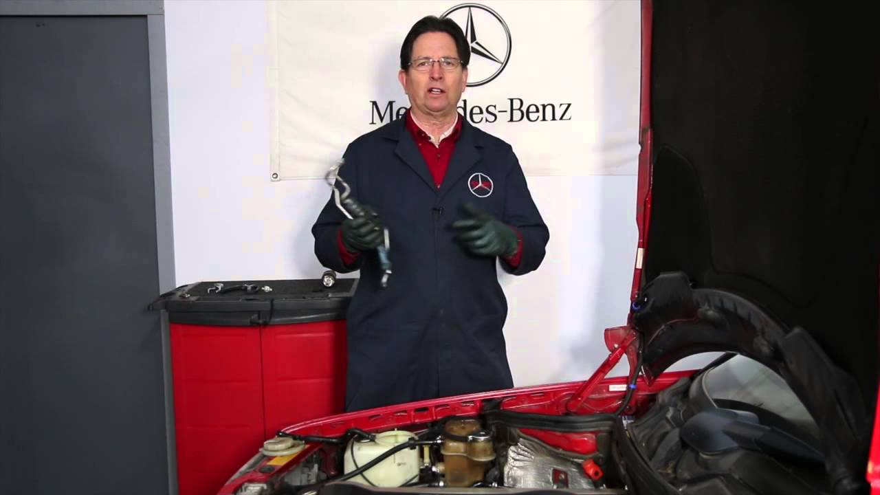 Where Is My Mercedes Engine Coolant Disappearing To Window Washer Benz Cooling Diagram Tank Alert Youtube