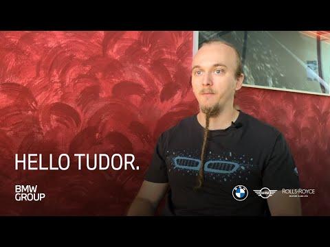 HELLO Tudor  I Software Engineer BMW Car IT  I BMW Group Careers.