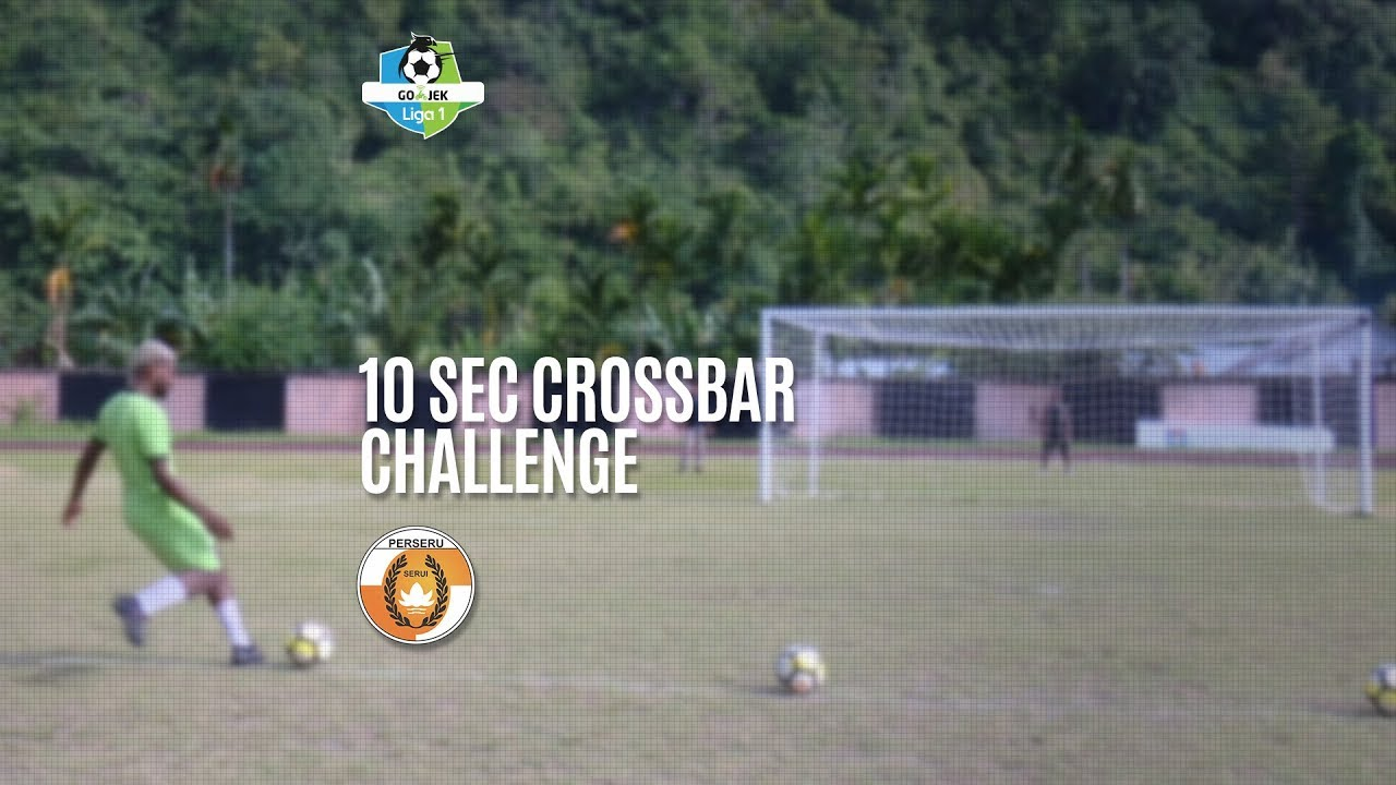 [10 Second Crossbar Challenge] Perseru 5