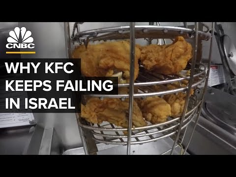 Why KFC Can't Compete With McDonald's In Israel