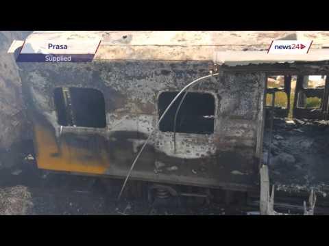Metrorail 'under siege' after latest train fire at Kraaifontein