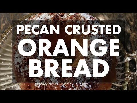 Pecan Crusted Orange Bread with Ray & Stevie | REC TEC Grills