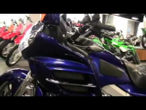2002 Honda Goldwing 1800 Abs Illusion Blue Tons Of Extras