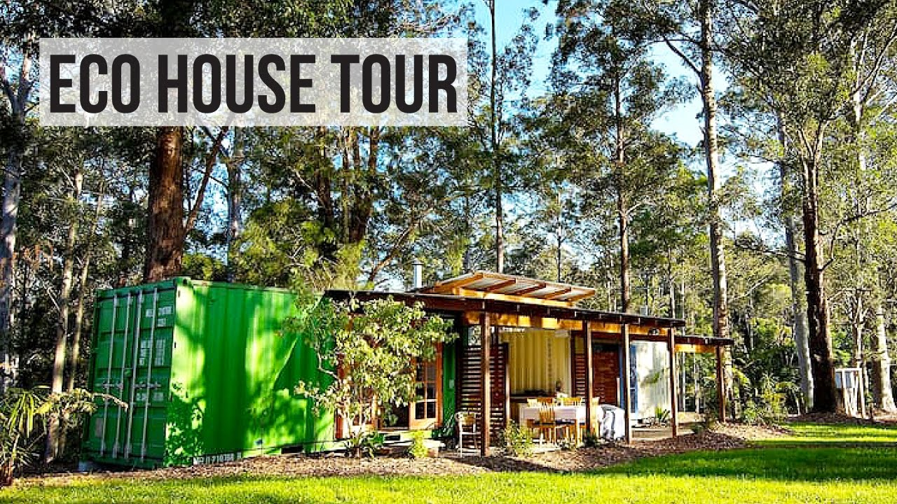 shipping container house tour eco friendly off grid youtube