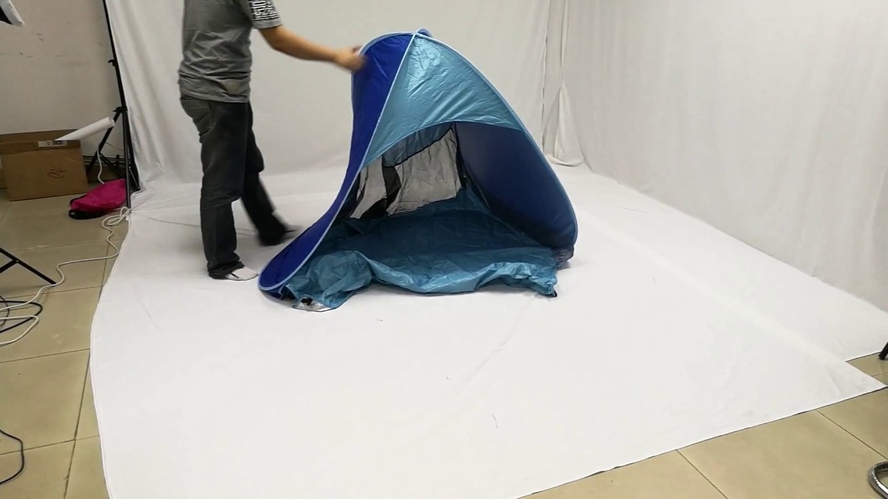 How to deal with distorted of MonoBeach Pop Up Beach Tent & How to deal with distorted of MonoBeach Pop Up Beach Tent - YouTube