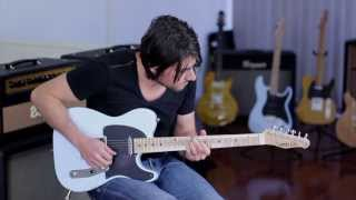 Cilia Guitars Harlequin MD Michael Dolce Clean Demo