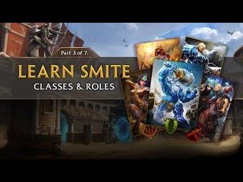 видео: smite tutorial part 3 - Классы & Роли (Русская Озвучка)