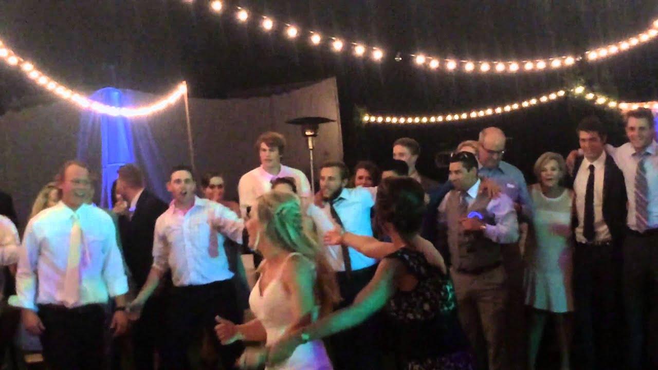 Gabel Wedding Epic Last Dance Sweet Caroline