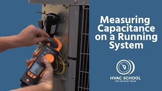 Measuring Capacitance on a Running System