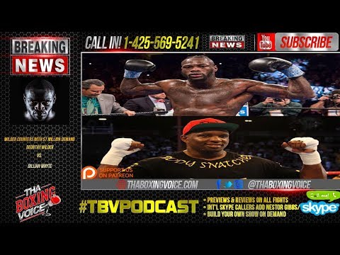 Deontay Wilder Exclusive Interview, Goes All Out On Eddie Hearn and Dillian Whyte