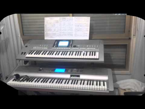 A Comme Amour on Yamaha PSR S710