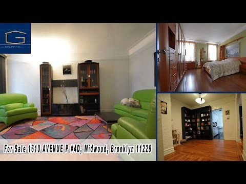 For Sale 1610 AVENUE P #4D, Midwood, Brooklyn 11229