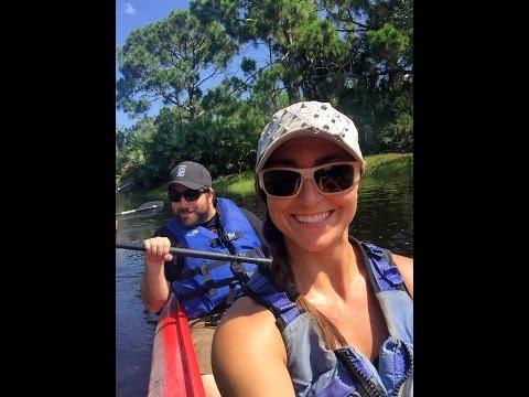Kayaking at the Brevard Zoo