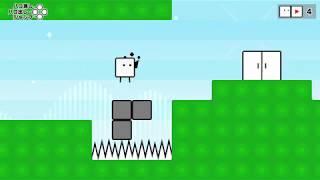 [プレイ動畫] ハコボーイ!& ハコガール!/ BOXBOY! + BOXGIRL!: game-play 04