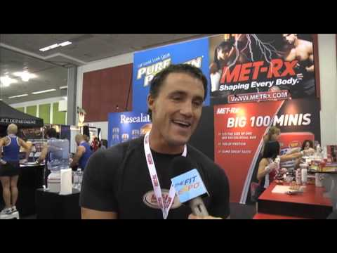 Greg Plitt from Met-Rx Interview At The San Jose Fit Expo 2012