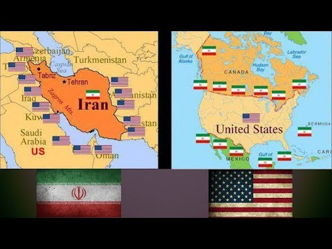 IRAN VS UNITED STATES -  Military Power Comparsion 2018