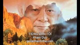 TIẾNG ĐÀN TÔI - Guitar Solo