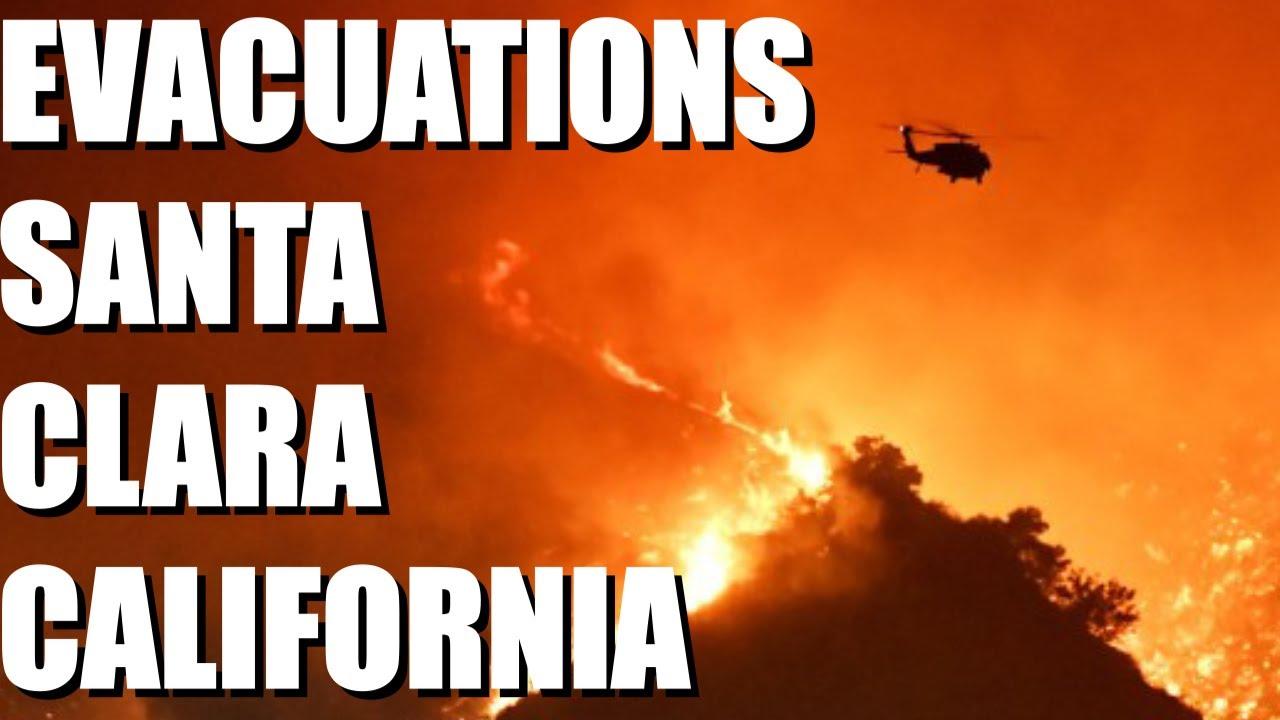 Fire in California 1,500 Acres Crews Road and Oak Spring Circle, north of Gilroy, Santa Clara