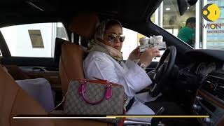Saudi woman legally behind the wheel 28 years after aunt