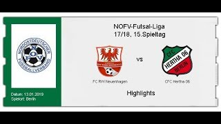 FC RW Neuenhagen - CFC Hertha 06 (Highlights)
