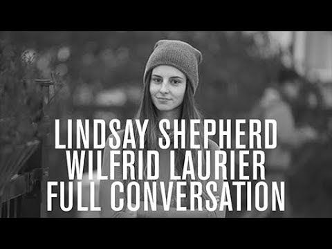 Full conversation, Lindsay Shepherd, Wilfrid Laurier University