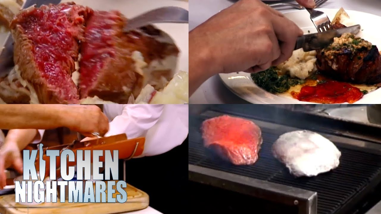 The Worst Steaks Served On Kitchen Nightmares Youtube