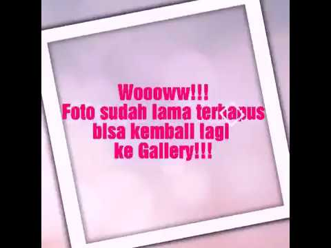 CARA MENGEMBALIKAN FOTO / VIDEO YG TERHAPUS DI ANDROID TANPA ROOT !!!.