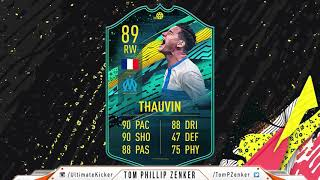 FIFA 20 SBC Player Moments Florian Thauvin CHEAPEST SOLUTION 151000  FUT SQUAD BUILDING CHALLENGE